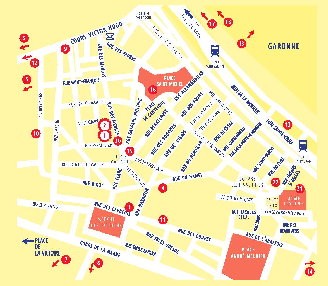 Plan des lieux 2019
